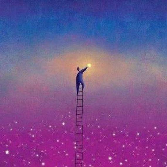 Les étoiles sont éclairées pour que chacun puisse un jour retrouver la sienne.